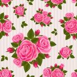 Bloemen naadloos Royalty-vrije Stock Fotografie