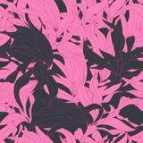 Bloemen naadloos behang stock illustratie
