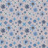 Bloemen naadloos etnisch bohopatroon Royalty-vrije Stock Foto