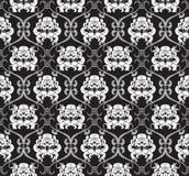 Bloemen naadloos ontwerp Stock Afbeeldingen