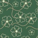 Bloemen naadloos ornament Stock Foto's