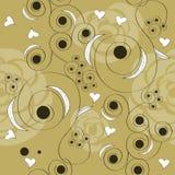Bloemen naadloos patroon Stock Foto's