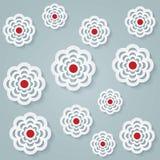 Bloemen naadloos patroon Royalty-vrije Stock Afbeelding