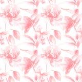 Bloemen naadloos patroon stock illustratie