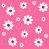 Bloemen naadloos patroon Stock Afbeelding