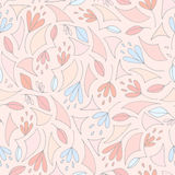 Bloemen naadloos patroon Royalty-vrije Stock Fotografie