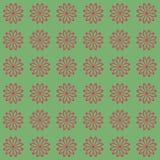 Bloemen naadloos patroon als achtergrond Stock Foto's