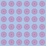 Bloemen naadloos patroon als achtergrond Royalty-vrije Stock Afbeelding