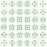 Bloemen naadloos patroon als achtergrond Royalty-vrije Stock Foto's