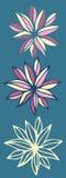 Bloemen naadloos patroon Vector Royalty-vrije Illustratie