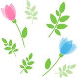 Bloemen naadloos patroon Vector Vector Illustratie