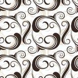Bloemen naadloos patroon. Vectorillustratie. Royalty-vrije Stock Foto