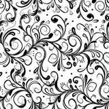 Bloemen naadloos patroon voor uw ontwerp Stock Foto's