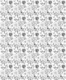 Bloemen naadloos rozenpatroon vector illustratie
