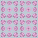 Bloemen naadloos vector mooi modern patroon als achtergrond Royalty-vrije Stock Fotografie