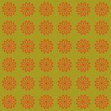 Bloemen naadloos vector mooi modern patroon als achtergrond Stock Foto
