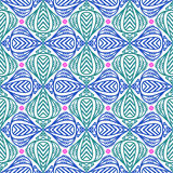 Moderne stylization van Indische patronen Royalty-vrije Stock Afbeelding
