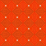 Moderne stylization van Indische patronen Royalty-vrije Stock Fotografie