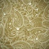 Bloemen naadloze abstracte hand-drawn achtergrond. Royalty-vrije Stock Fotografie