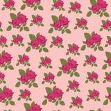 Bloemen naadloze achtergrond Stock Fotografie
