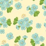 Bloemen naadloze achtergrond Royalty-vrije Stock Foto