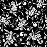 Bloemen naadloze achtergrond Royalty-vrije Stock Afbeeldingen