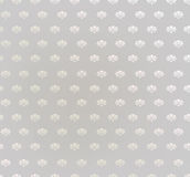 Bloemen naadloze achtergrond. Abstracte beige en grijze bloemen geometrische Naadloze Textuur Stock Afbeeldingen