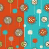 Bloemen naadloze patronen Royalty-vrije Stock Afbeelding