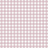 Bloemen naadloze patroonachtergrond Royalty-vrije Stock Foto