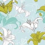 Bloemen naadloze textuur. Stock Fotografie