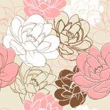 Bloemen naadloze textuur. Royalty-vrije Stock Foto