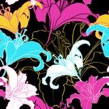 Bloemen naadloze textuur. Royalty-vrije Stock Fotografie