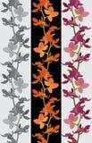 Bloemen naadloze textuur als achtergrond vector illustratie