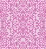 Bloemen Naadloze Textuur, roze stock illustratie