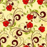Bloemen naadloze vector Stock Fotografie