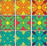 Bloemen nuovo van patroon middeleeuwse ARS Stock Afbeelding