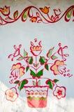 Bloemen, Oekraïense decoratie royalty-vrije illustratie