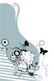 Bloemen ontwerp Royalty-vrije Stock Foto