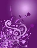Bloemen ontwerp stock illustratie