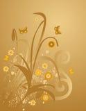 Bloemen ontwerp Royalty-vrije Stock Foto's