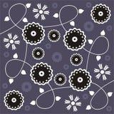 Bloemen ontwerp royalty-vrije illustratie
