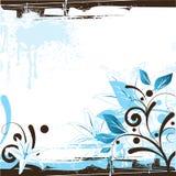 Bloemen Ontwerp Als achtergrond Royalty-vrije Stock Fotografie