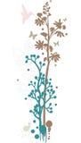 Bloemen ontwerp als achtergrond royalty-vrije illustratie