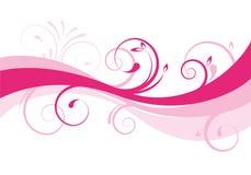 Bloemen ontwerp als achtergrond Royalty-vrije Stock Afbeeldingen