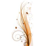 Bloemen ontwerp (vector incl) Royalty-vrije Stock Afbeelding