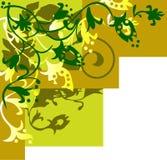 Bloemen ontwerpachtergrond Stock Foto's