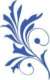 Bloemen ontwerpelement royalty-vrije illustratie