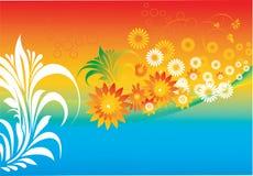 Bloemen ontwerpen Stock Fotografie