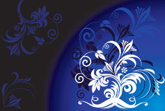 Bloemen ontwerpen Royalty-vrije Stock Afbeeldingen