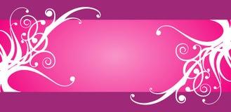 Bloemen ontwerpframe royalty-vrije illustratie